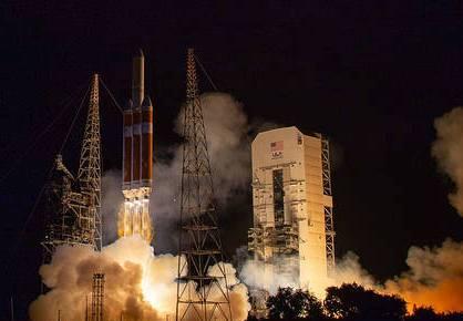 Parker Solar Probe liftoff.