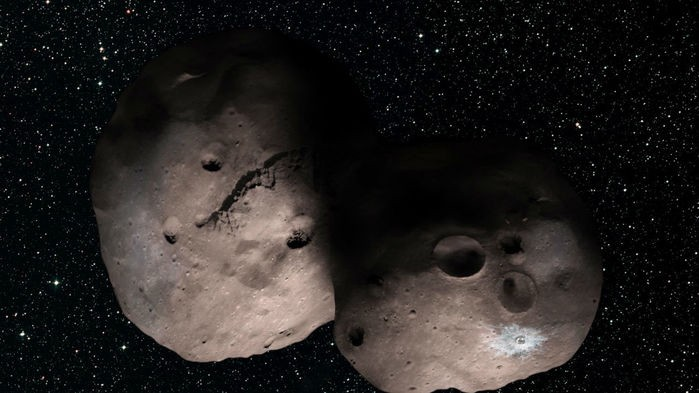 Ultima Thule Artist Conception.
