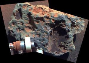 Mars Meteorite Block Island