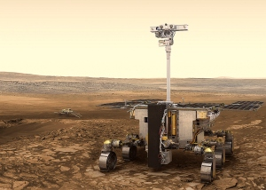 The Rosalind Franklin rover