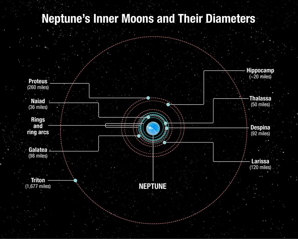 Neptune moons