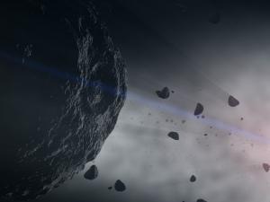 Asteroids Colliding