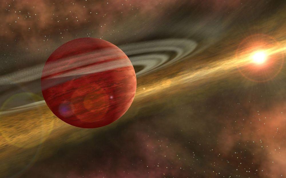 Giant Exoplanet