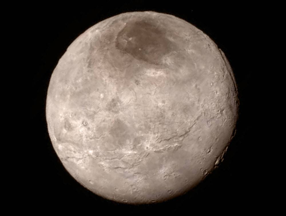 Charon as seen by New Horizons