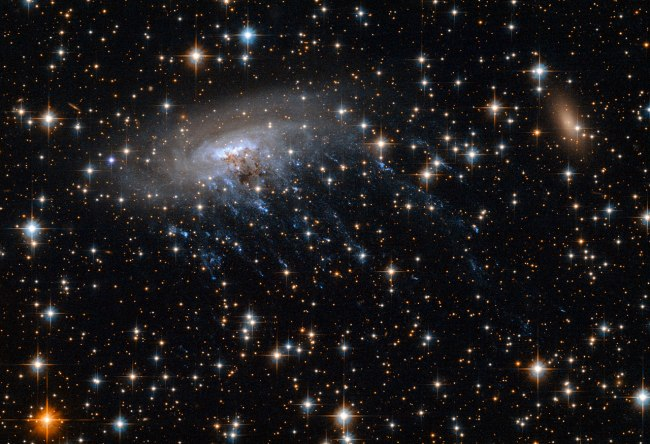 ESO 137-001 seen by Hubble