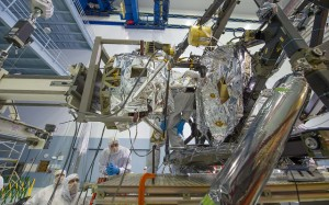 MIRI being attached to the James Webb Telescope